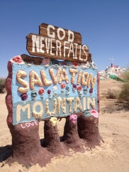 Salvation Mountain, Anza Borrego