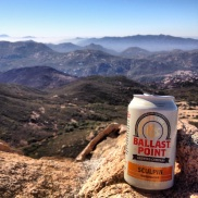 Summit Beer! Lawson Peak, San Diego County
