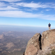 Cuyamaca Peak (highest peak in San Diego)