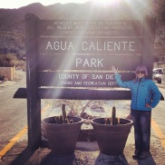 Birthday Camping, Agua Caliente, Anza Borrego