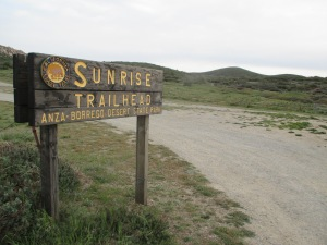 Sunrise Trailhead